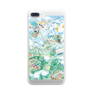 エベレスト街道を行け Clear smartphone cases