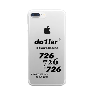 726 Clear smartphone cases