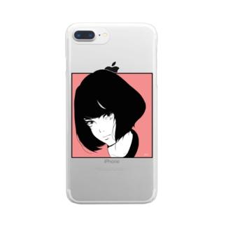 iradachi-girl Clear smartphone cases