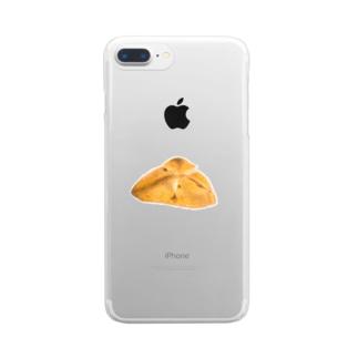 チーズパン Clear smartphone cases