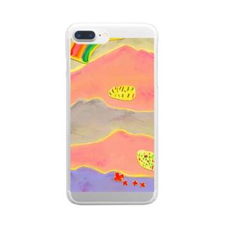 ももいろmount Clear smartphone cases