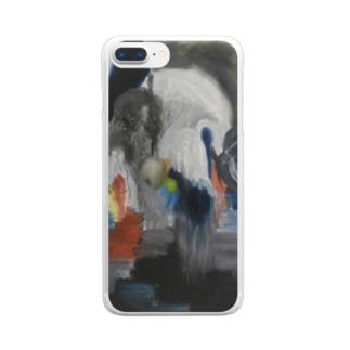 新しい島 Clear smartphone cases