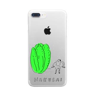HAKUSAI Clear smartphone cases
