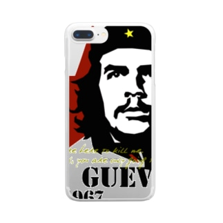 GUEVARA ゲバラ Clear smartphone cases