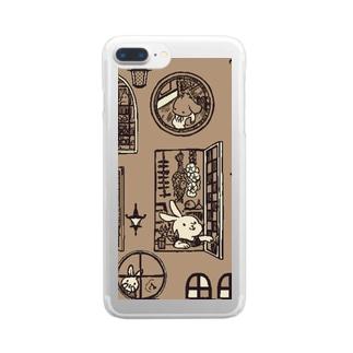 クリアスマートフォンケース(iPhone7,8) Clear smartphone cases
