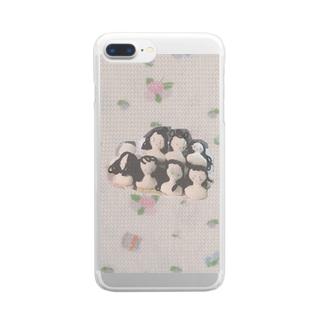 ななにん シスターズ? Clear smartphone cases