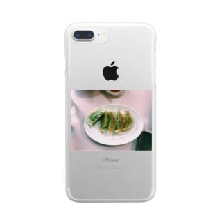 gyoza  Clear smartphone cases