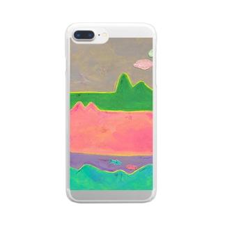 にじいろ景色 Clear smartphone cases