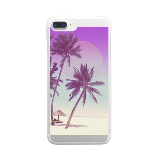 summer vacation Clear smartphone cases
