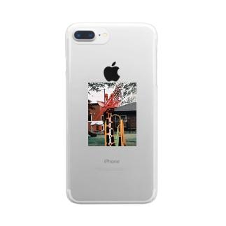 麒麟覚醒 Clear smartphone cases