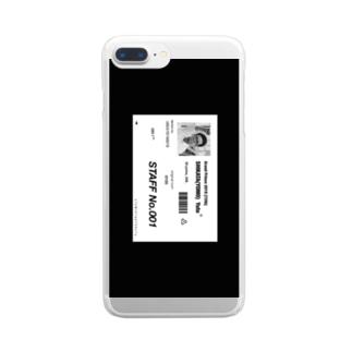 ディスイズヨモズスタイル Clear smartphone cases