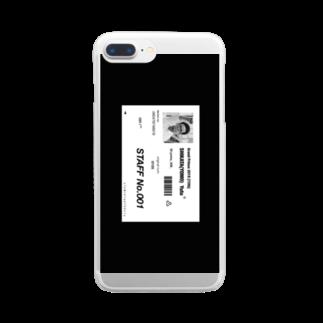 匿名酸素のディスイズヨモズスタイル Clear smartphone cases