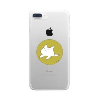 何かの生物 Clear smartphone cases