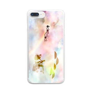 GIFT「籠の外へ」 Clear smartphone cases
