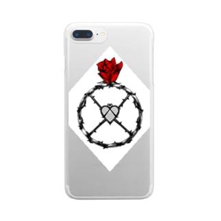 指輪 情熱 Clear smartphone cases