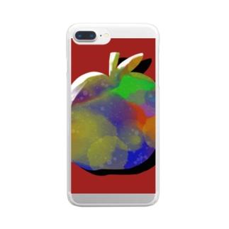 リンゴ Clear smartphone cases