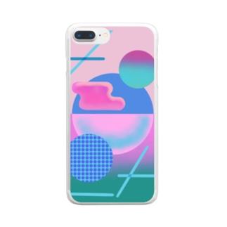 コブ Clear smartphone cases