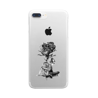 「死角」 Clear smartphone cases