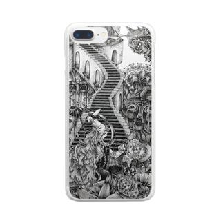 「醜い。」 Clear smartphone cases
