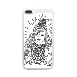 siva-san Clear smartphone cases