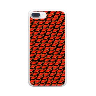 君たち魚たち(ハードモード() Clear smartphone cases
