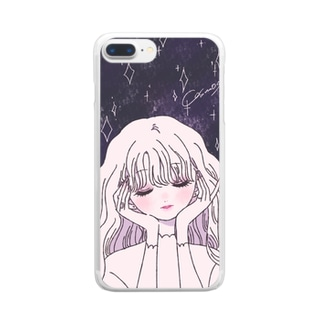 うちゅうケース Clear smartphone cases