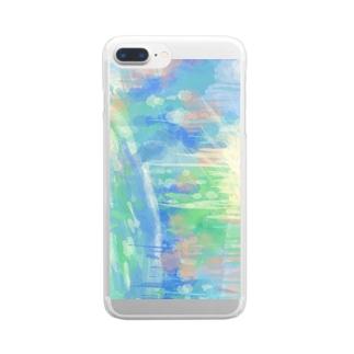心に雨を降らせた日 Clear smartphone cases