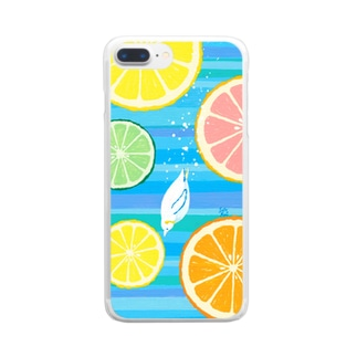 CitrusDive!! Clear smartphone cases