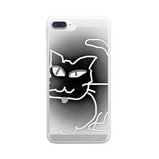 ネコポスです。。。 Clear smartphone cases