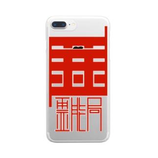 霊能局 Clear smartphone cases