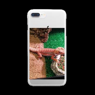 ℋaℛuℳa♝の朱華 Clear smartphone cases