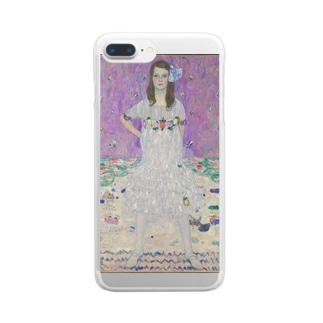 グスタフ・クリムト Gustav Klimt Mäda Primavesi Clear smartphone cases