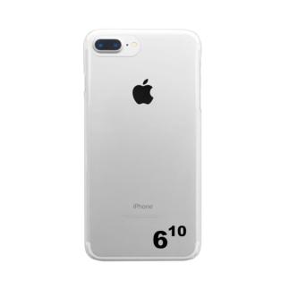 610(ムトウ) Clear smartphone cases