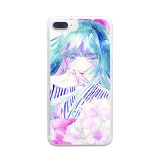 kazahana Clear smartphone cases