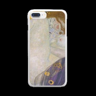 Art Baseのダナエ / グスタフ・クリムト ( Danae / Gustav Klimt 1908 ) Clear smartphone cases