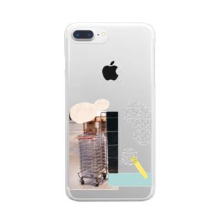 super market Clear smartphone cases