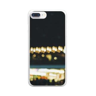 最寄り駅/近視 Clear smartphone cases