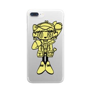 競馬 Clear smartphone cases
