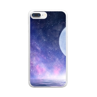 space case Clear smartphone cases