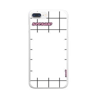 seesaw iPhoneケース Clear smartphone cases