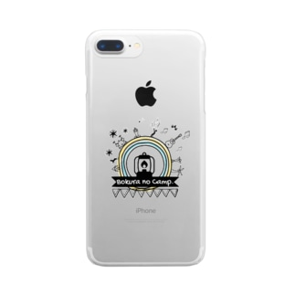 Bokura no Camp.世界は丸い Clear smartphone cases