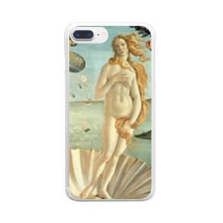 Hello Venus Clear smartphone cases