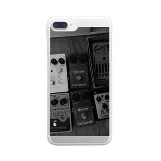 伝達的添加 Clear smartphone cases