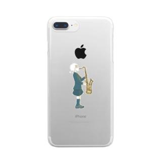 妹 Clear smartphone cases