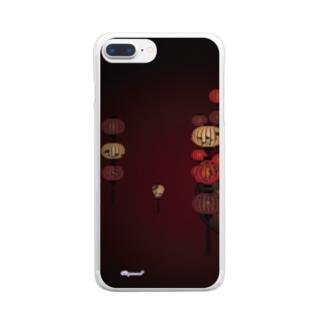 幻想ランタン Clear smartphone cases