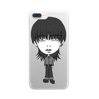 シャルさん Clear smartphone cases