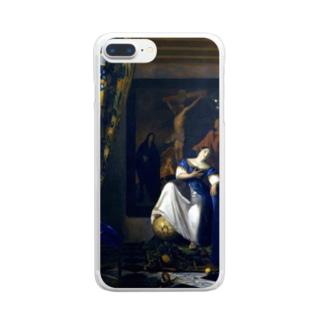 信仰の寓意 / フェルメール (The Allegory of the Faith 1670) Clear smartphone cases