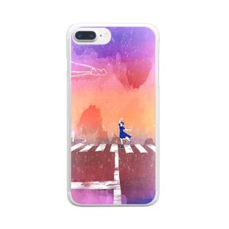 blue hour Clear smartphone cases