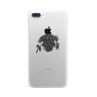 激痛。 Clear smartphone cases