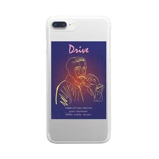 ドライヴ Clear smartphone cases